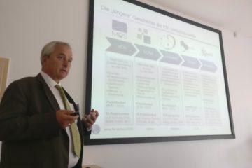 Prof. Dr. Mauch über die Forschungstätigkeiten der FfE